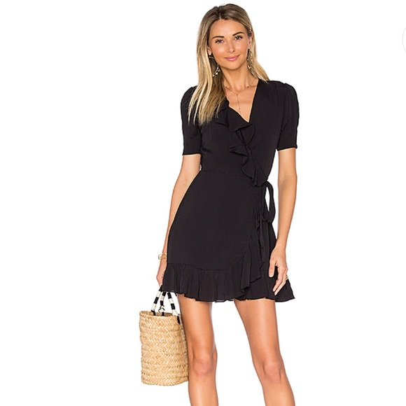 Privacy Please Dresses & Skirts - REVOLVE Privacy Please June Ruffle Wrap Dress-F1